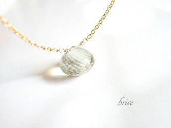 【sale】グリーンアメジスト ネックレスの画像