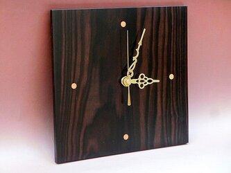 meiboku時計 黒檀の画像