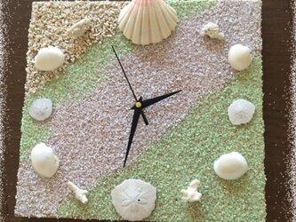 海を感じる癒し時計の画像
