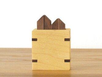 箸置きセット【ウォールナット】の画像