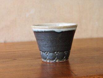 ちょい呑みコップ チタン黒の画像