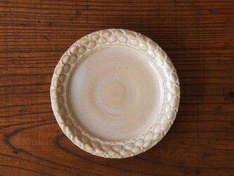 laceケーキ皿 チタンベージュの画像
