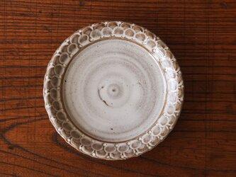 laceケーキ皿 うのふ白の画像