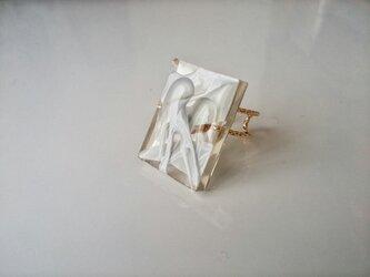 送料無料『canvas』ring/gray /13号フリーの画像