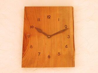 掛け時計 桜材⑥の画像