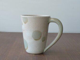 マグカップ 釉彩水玉の画像