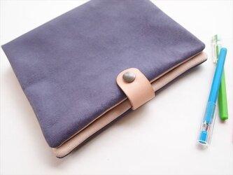 【SALE】A5サイズ バインダー手帳【定番カラー】ぶた革やわらか手帳カバー【受注生産】レザーの画像