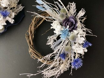 Dryflower twig wreathの画像