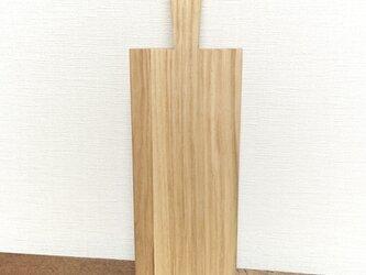 栗のカッティングボードの画像