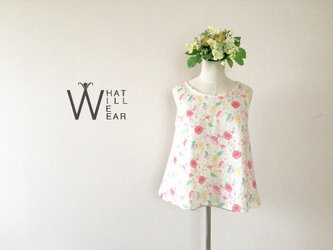 FLEUR FLARE TOP - A (PINK)の画像