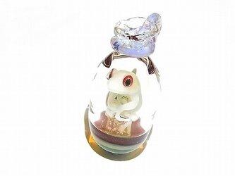 Gift(ギフト) ペンダント トップ 【kengtaro/ケンタロー】袋に入ったカエル ボロシリケイトガラスの画像