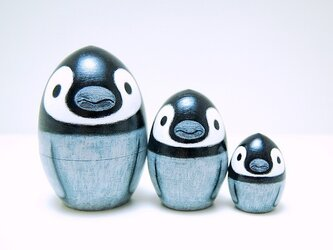 つるん♪ころん♪ペンギン*マトリョーシカ*[1]の画像