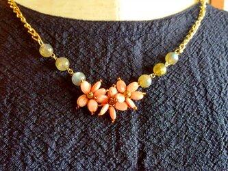 桜のネックレスの画像