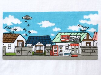 UFOアブダクション【Tシャツ】の画像