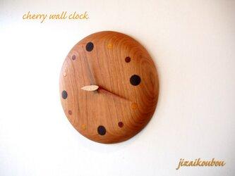 チェリーの「 なめらか掛け時計」の画像