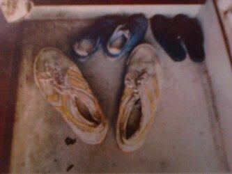 学校の上履きの画像
