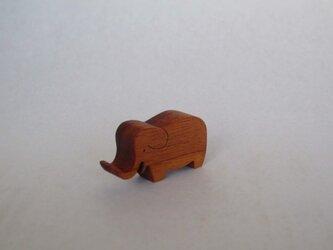 カードスタンド ゾウ(小)の画像