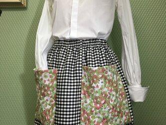 大きめポッケのスカート<送料込>の画像