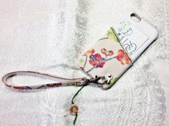 iPhone6対応「お財布ケータイ」仕様カバー『梅花』の画像