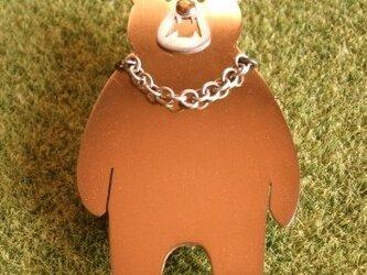 【 クマ ブローチ 】の画像