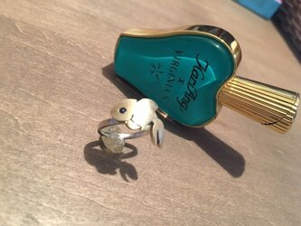 金魚の指輪の画像