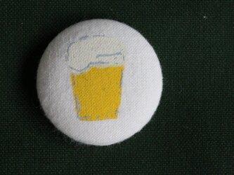 ゆるっとビールバッジの画像