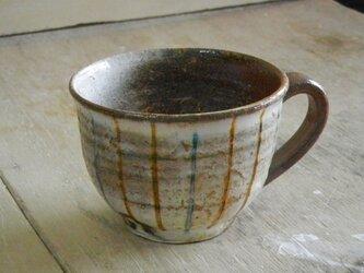 百色(ももいろ)象嵌 マグカップ(丸)ストライプの画像