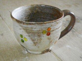 百色(ももいろ)象嵌 マグカップ(丸)丸紋の画像