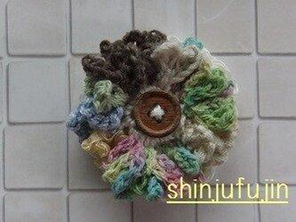 【Sold】お花畑のコサージュ59の画像