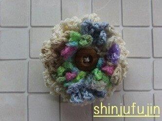 【Sold】お花畑のコサージュ60の画像