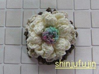 【Sold】お花畑のコサージュ62の画像