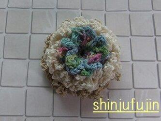 【Sold】お花畑のコサージュ63の画像