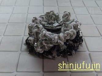 【Sold】お花畑のコサージュ64の画像
