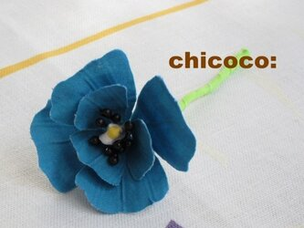 *miniminiポピー blue*の画像