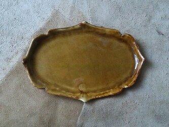 洋風な和皿の画像