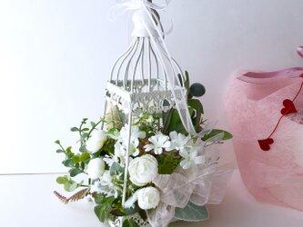 ご結婚お祝い♡ランタンアレンジの画像