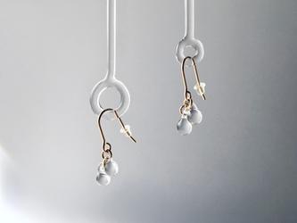 -Dew- single double pierce/earringの画像
