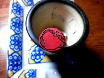 トグルのはんこ 「やもり昼ね」の画像