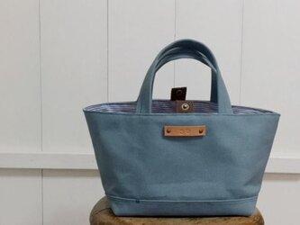 アンティ-クブル-の帆布bagの画像
