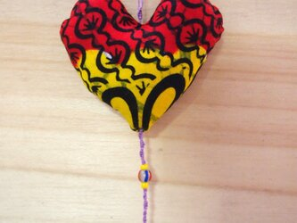 AFRICAN SUN CATCHER*mini heartの画像