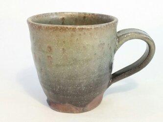 灰釉マグカップの画像