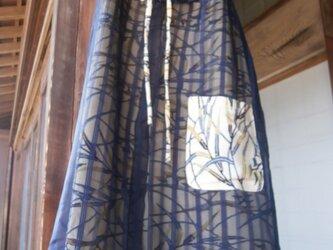 アンティーク着物リメイク チュニックワンピースの画像