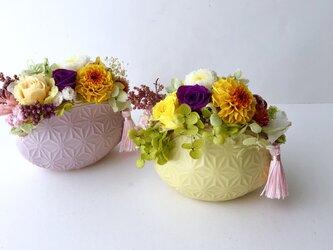 ご結婚お祝いやお誕生日プレゼント♡プリザーブドフラワーアレンジの画像