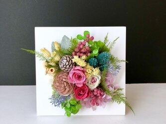 Flower frame ♡ S sizeの画像