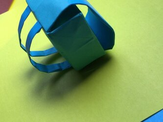 折り紙でランドセルのオーダー受け付けますの画像