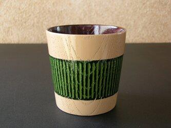 フリーカップ/アイボリー&グリーン・3WAY2トーンの画像
