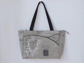 フランスリネン『MANUSCRIT』 バッグの画像