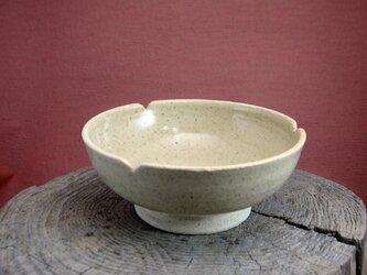 花弁小鉢(白)(陶器)の画像