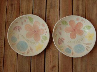 flower plate ーpinkーの画像