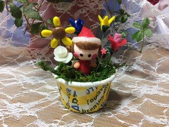 お花の妖精4の画像